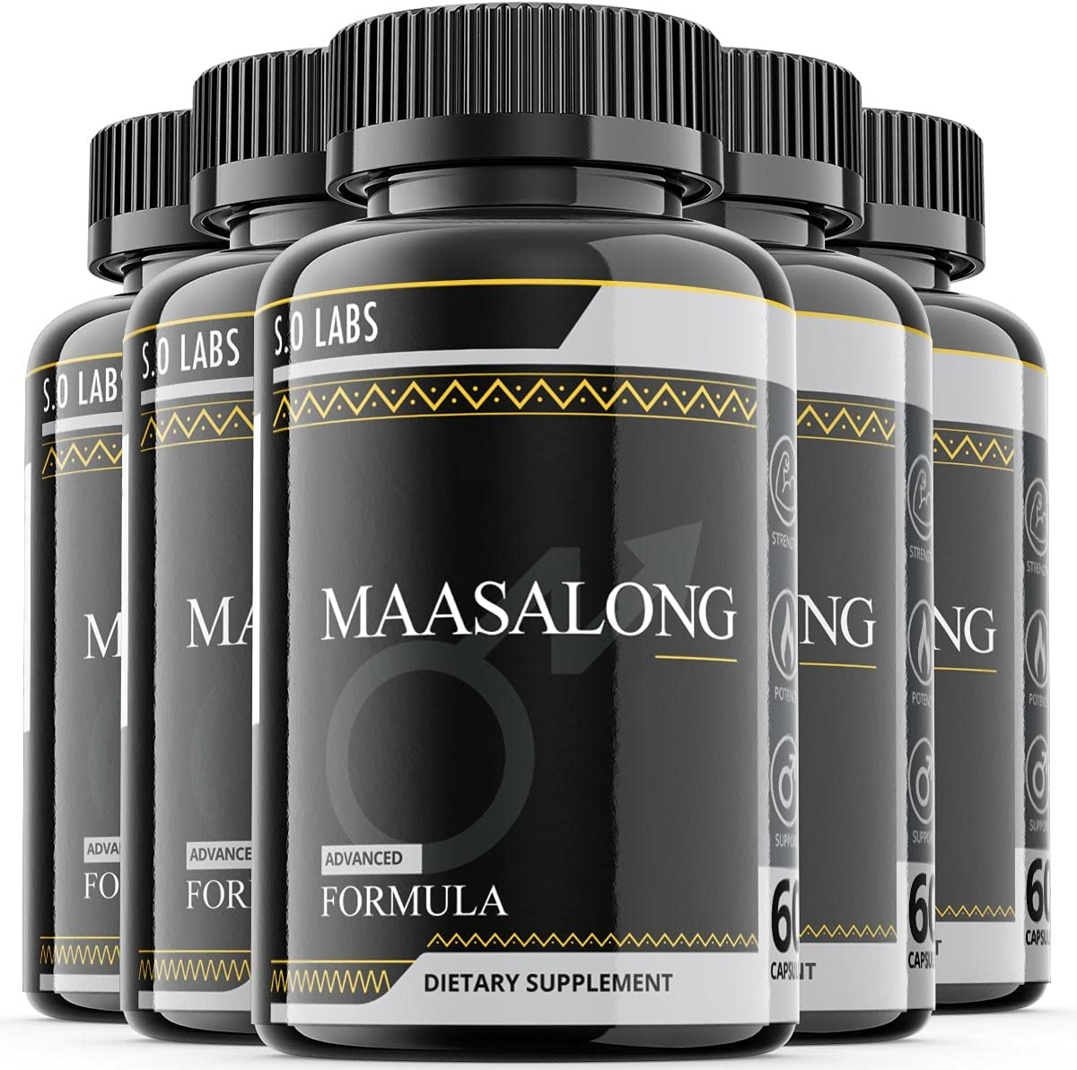 Maasalong Male Advanced Formula Test Boosting Pack 5 Enhancment ☆ very Cheap super special price popular