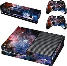 eSeeking Whole Body Vinyl Skin Sticker Decal Cover for Microsoft Xbox One Console Galaxy Nebular