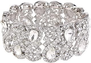 Best chunky crystal bracelets Reviews