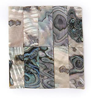 10 Piece Premium Mother Of Pearl/Mop Inlay Blanks Shell 1mm