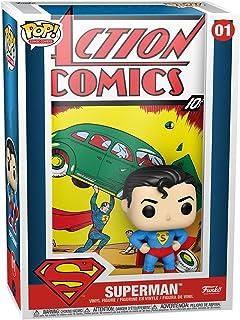 Funko Pop! Funda de vinilo de cómic: DC - Superman Action Comic