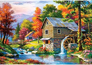 Castorland B-52691 Old Sutter's Mill Jigsaw Puzzle, Multicolour