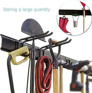 Ultrawall Garage Wall Organizer, 9PC Garage Tool Hooks,Garden Tool Storage Rack