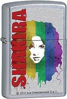 Zippo Lighter Shakira Rainbow Street Chrome