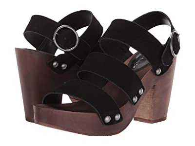 Chinese Laundry Fayla (Black Split Suede) High Heels