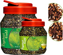 Byahut Gold Cloves with Organic Tea Leaves & Cloves with Green Tea Leaves, 400g