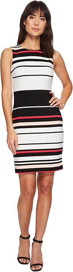 Calvin Klein - Sleeveless Ottoman Dress