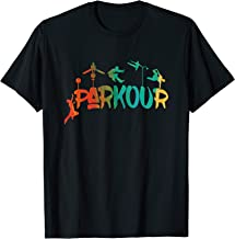 Extreme Parkour Free Running Jumping City Ninja Athlete Gift T-Shirt
