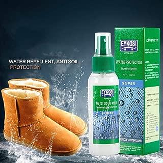 kaersishop Spray impermeabilizante para Zapatos y Botas, Resistente al Agua y a Las Manchas de Larga duración para Cuero, Gamuza, Nubuck, Piel de Oveja y Telas