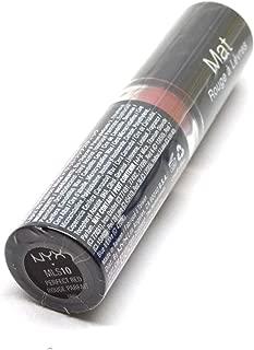 Women Matte Lipstick Net Wt 0.16oz / 4.5g Lip Stick Many Shade Colors BeutiYo + FREE EARRING (MLS10 : PERFECT RED)