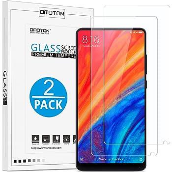 OMOTON Xiaomi Mi Mix 2/ 2S Protector de Pantalla, Xiaomi Mix 2S ...