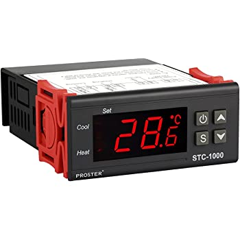 Termostato STC-1000, Proster 220V Digital Display LCD Sensor ...