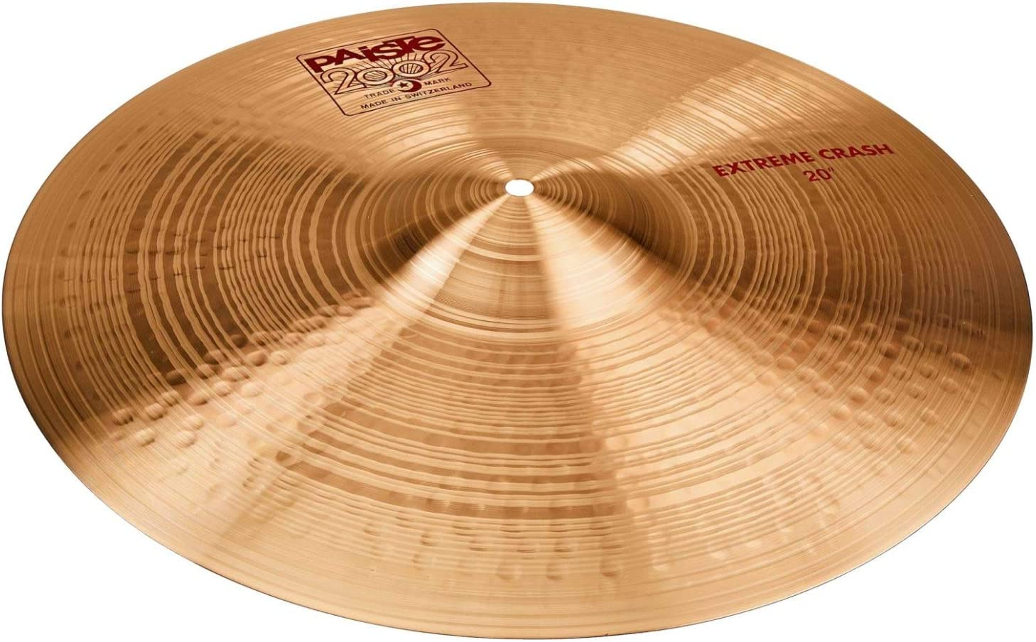 Paiste 20 Inches 2002 Extreme Manufacturer regenerated product Cymbal Crash Selling rankings