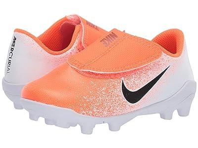 Nike Kids Vapor 12 Club MG (Toddler/Little Kid) (Hyper Crimson/Black/White) Kids Shoes