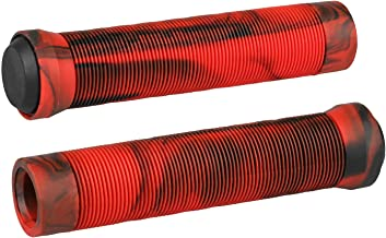 Kutrick Handle Bar Grips 145mm Soft Flangeless Longneck Grips for Pro Stunt Scooter Bars..