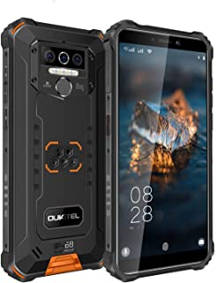 OUKITEL WP5 IP68防水 防塵 耐衝撃 8000mAh アウトドア スマートフォン Android 10.0 4G 5.5インチ スマホ本体 フリーSIMスマートフォン本体 4GBRAM+32GBROM SONY13MP+5MPデュ...