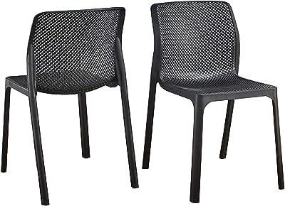 Amazon.com: Diseño ergonómico silla de oficina recepción de ...