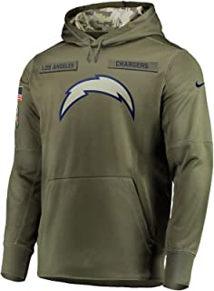 Los Angeles Chargers 2018 NFL Salute to Service Men's STS Therma Hoody