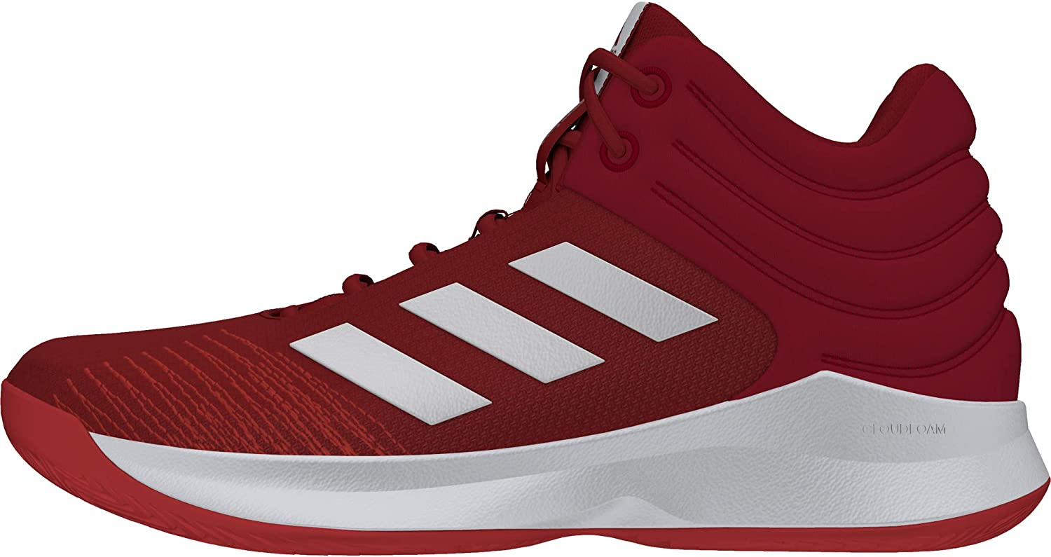 Adidas Men shoes Basketball Pro Spark 2018 Cloudfoam 3 Stripes Red