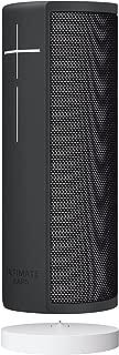 Ultimate Ears MEGABLAST Portable Wi-Fi/Bluetooth Speaker with Hands-Free Amazon Alexa Voice Control (Waterproof) - Graphite Black + Charging Dock