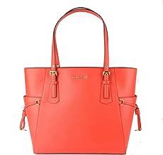 michael kors coral handbag