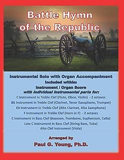 Battle Hymn of the Republic: Instrumental Solo with Organ Accompaniment