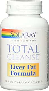 Solaray Total Cleanse Liver Fat Formula, Veg Cap (Btl-Plastic) | 90ct