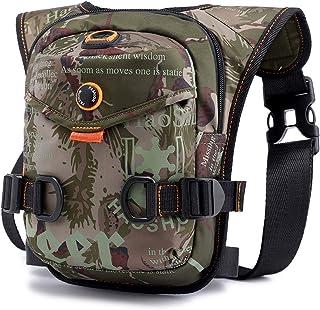Fansport Outdoor Drop Leg Bag Camping Waist Bag Portable Chest Bag Waist Pack for Cycling