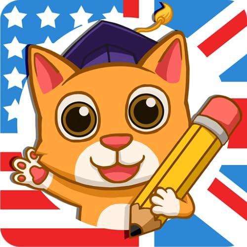 Fun English: Englisch lernen - Sprachlernspiele, mit denen Kinder im Alter von 3 bis 10 Jahren lesen, sprechen & die Aussprache lernen können