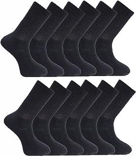 Calcetines deportivos lisos para hombre 3 6 9 12 15 pares