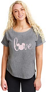 Disney Women's Love Mickey T-Shirt