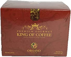 Organo Gold King of Coffee 25 Sachets