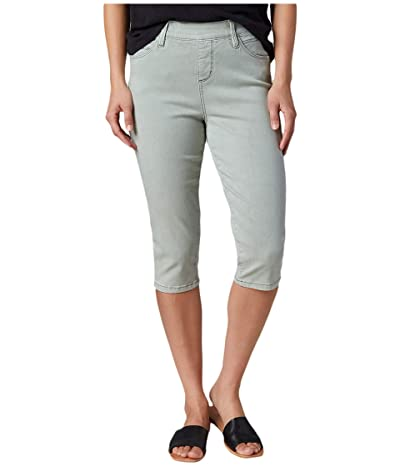 Jag Jeans Bryn Pull-On Twill Pedal Pusher (Agave) Women