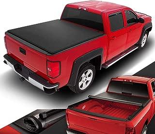 DNA Motoring TTC-RU-051 Truck Bed Top Roll-Up Vinyl Soft Tonneau Cover