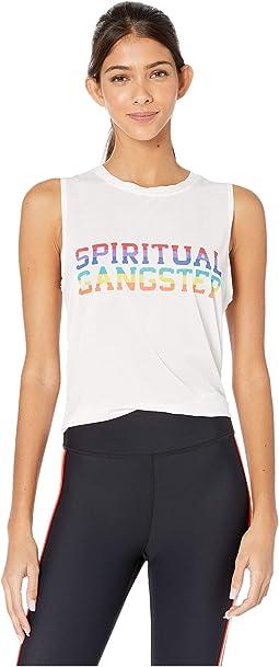 Rainbow Varsity - White