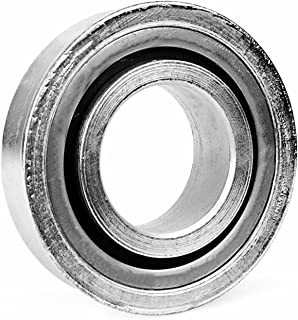 Unsealed 0.500 Smith Bearing CR-1//2A-C Cam Follower Needle Roller Bearing Crowned-Regular Stud with Screwdriver Slot