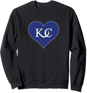 Vintage Kansas City Heart - I Love KC Sweatshirt
