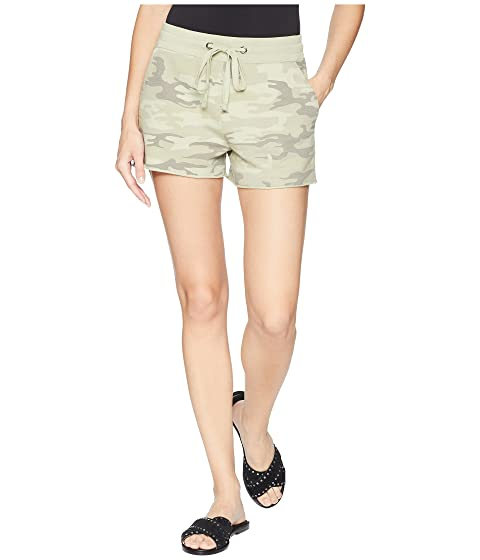 French Terry Shorts, Cadet Camo