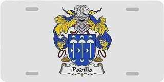 Carpe Diem Designs Padilla Coat of Arms/Padilla Family Crest License/Vanity Plate – Made in The U.S.A