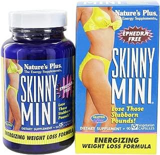 NaturesPlus Skinny Mini - 90 Vegetarian Capsules - Natural Weight Loss Support Supplement, Appetite Suppressant, Metabolism Booster - Gluten-Free, Ephedra Free - 45 Servings