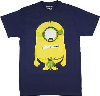 Despicable Me Men's Prehistoric Minion Funny Leaf Underwear T-Shirt