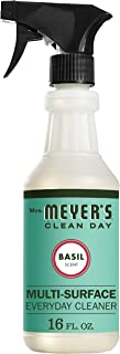 Mrs. Meyer's Clean Day Multi-Surface Everyday Cleaner, Cruelty Free Formula, Basil Scent, 16 oz