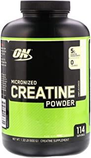 Micronized Creatine Powder Muscle Strength Unflavored 114 Servings 1.32 lb 600 g