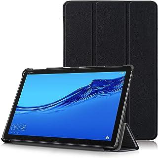 جراب Huawei MediaPad M5 Lite 10 - جراب نحيف للغاية وخفيف الوزن مزود بوظيفة التنبيه/السكون التلقائي لهاتف Huawei MediaPad M...