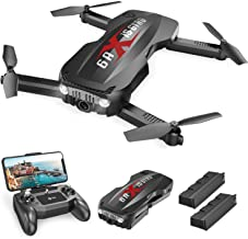 Holy Stone HS160 Pro Foldable Drone with 1080p Full HD WiFi Camera for Adults and Kids, with 2 Batteries 24 Mins Play, Car...