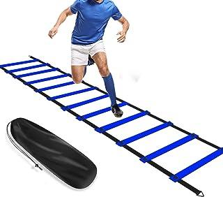 8 Attrezzi per l/'allenamento della velocità con pioli Agility Ladder