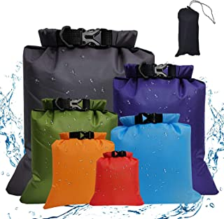 Waterproof Storage Bag Lightweight Dry Sack Bag For Outdoor Camping Multi Sizes