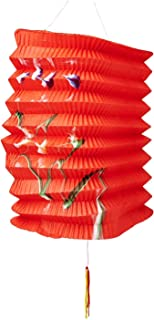 Partyforte Mid Autumn 26 Traditional Paper Lantern, 6-Count