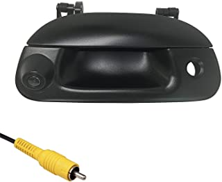 Master Tailgaters Replacement for Ford F150 F250 F350 F450 F550 (1997-2007) Black Tailgate Handle with Backup Camera