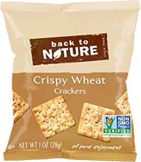 Back to Nature Crackers, Non-GMO Crispy Wheat, 8 Count